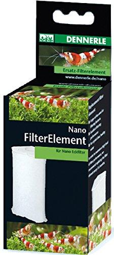 Dennerle 7004059 Nano Clean Eckfilter, Ersatz-Filter