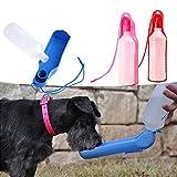 OGGID Botella de Agua para Mascotas Bebedero Portatil para Perro, Gato Cobayas, Hurones, Conejos y PáJaro Dispensador De Agua de Viaje Al Aire Libre