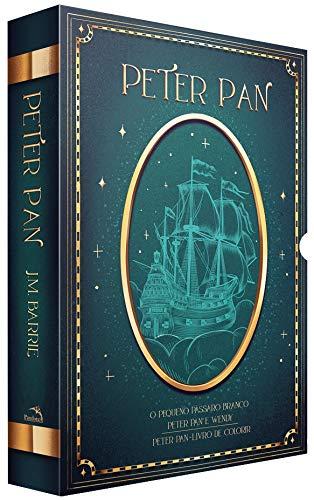Box Peter Pan: 3 livros + pôster + marcadores e Cards