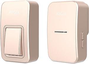 Draadloze deurbel en chimes draadloze kit digitale elektronische afstandsbediening deurbel voor thuiskantoor hotel (Color...
