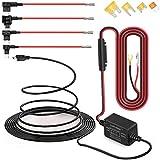 Dash Cam Hardwire Kit Micro USB Câble Rigide Kit Chargeur de Voiture Câble 12V à 5V pour Dash appareils GPS