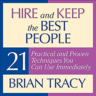 Hire and Keep the Best People cover art