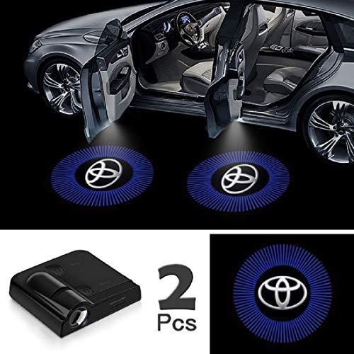 "JOJOY LUX 2 Pack Car Door Lights Logo Projector, Universal Wireless Car Door Led Projector Lights, Upgraded Car Door Welcome Logo Projector Lights with 3.M Sticker,for""T0Y0TA"""
