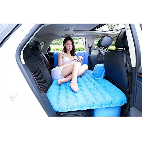 XMGJ Materassi ad Aria Air Bed-Car Air Bed con Protezione per la Testa Multifunzione all'aperto Campeggio Pesca Materasso Gonfiabile Pesca Campeggio all'aperto Camping e Outdoor (Colore : Blu)