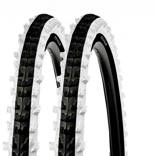 2x Kenda Fahrrad Reifen 20x2.00 MTB K-829 50-406 schwarz/weiss