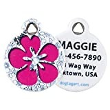 image of Flower Power - Custom Pet Tag for Dogs