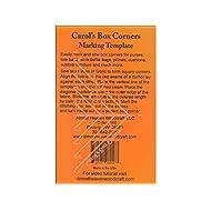 Almost Heaven Woodcraft Cornr Carol's Box Corners Template