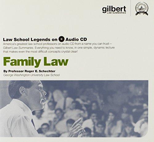 Law School Legends Audio on Family Law (Law School Legends Audio Series)