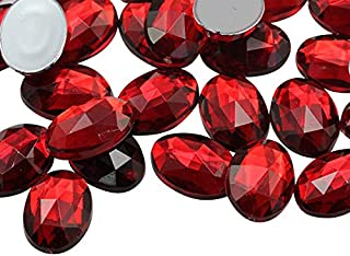 red oval jewel