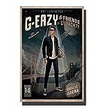 DNJKSA G-Eazy Rap Musik Kunst Poster Druck auf Leinwand