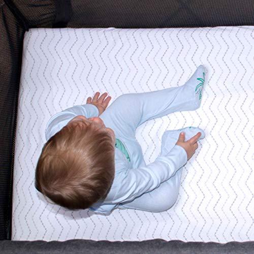 Guava Lotus Travel Crib Sheets (Set of 2) – 100% Organic Cotton Crib Sheets