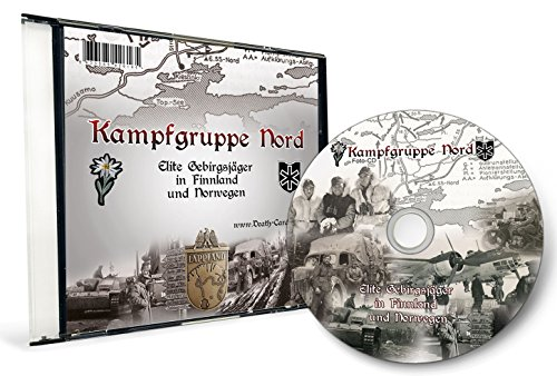 "2.Weltkrieg - FOTO CD KAMPFGRUPPE NORD Vol.2 - SS Gebirgsjäger in Finnland und Norwegen - 6. SS-Gebirgs-Division ""Nord"""