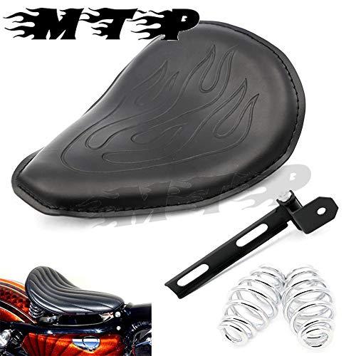 Jonathan-Shop - Solo Seat W/Mounting Kit for Honda Shadow Spirit 750 600VLX VT750 DC VT600 VT750 ACE Rebel Magna Cruiser Bobber Style Custom