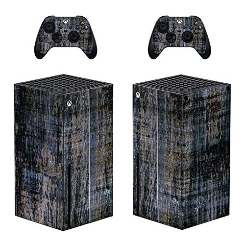 LUONE Couvercle d'autocollant de la Peau pour la série Xbox Série X, Console de Couverture de Vinyle de Vinyle Complet et contrôleurs pour la série Xbox Série X,0366