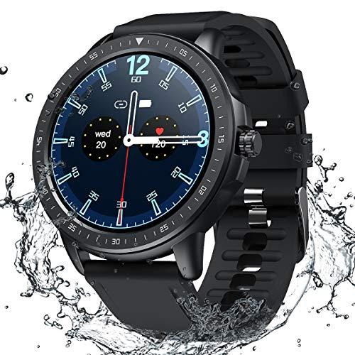 Smart Watch for Women Men,Fitness Tracker with Heart Rate,Blood Pressure,Blood Oxygen,IP67 Waterproof...