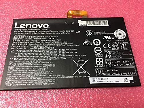 New Genuine Tablet Battery Compatible with Lenovo Yoga Book YB1-X91 X90 YB1-X90F YB1-X90L YB1-X91FYB1-X91L L15C2P31 3.8V 32.3WH
