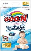 Elleair GOO.N Diaper (with tape straps) Size: M (x64)