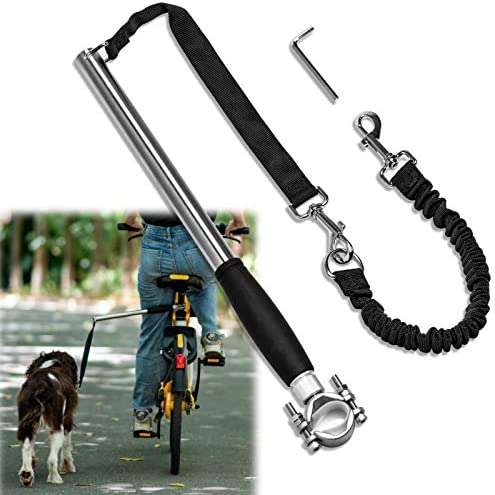 Unicam Retractable Bicycle Dog Leash Hands Free Bike Leash for Pet Dogs Safety Dog Bike Leash product image