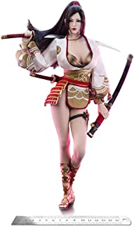 1/6 Japanese Ancient Hero Nōhime Figure 12 Inch Female Warrior Action Figure Doll Set for Fans Gifts
