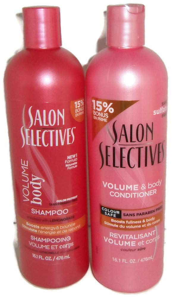 Salon Selectives Volume and Body Shampoo Price reduction Color S Conditioner Max 43% OFF