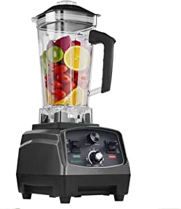 TYNEGH BPA Free Commercial Grade Timer Blender Mixer Heavy Duty Automatic Fruit Juicer Food Processor Ice Crusher Smoothie 2200W