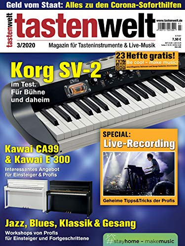 Korg SV-2 im Test Special Live-Recording Workshops für Jazz Blues Klassik Gesang in der tastenwelt