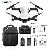 CreazyBee JJRC X12 4K HD Camera 5G WiFi FPV Drone GPS Brushless Motor Foldable Quadcopter, Max 50X Digital Zoom, Max Horizontal Flight Speed 21.6km/h (White)