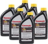 Pack of 6 Kawasaki 99969-6281 Genuine OEM K-Tech SAE 30 4-Cycle Engine Oil