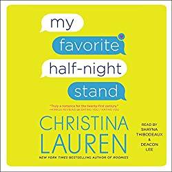 My favorite half night stand book cover