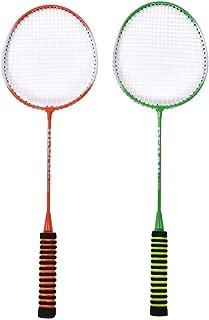 WQM 1 Paio Racchetta da Badminton Bambini Formazione della Racchetta di Volano Palla Set Indoor Outdoor Sport Gioco Giocattolo Genitore-Figlio Giocattoli Sport Equipment