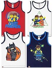 LEGO Wear – 4 Piezas. Conjunto de Camiseta Interior para niño