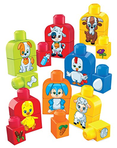 Mega Bloks 887961565249 Basics Build and Match Animals