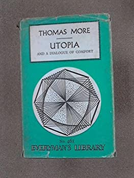 Hardcover More's Utopia and a Dialogue of Comfort Book