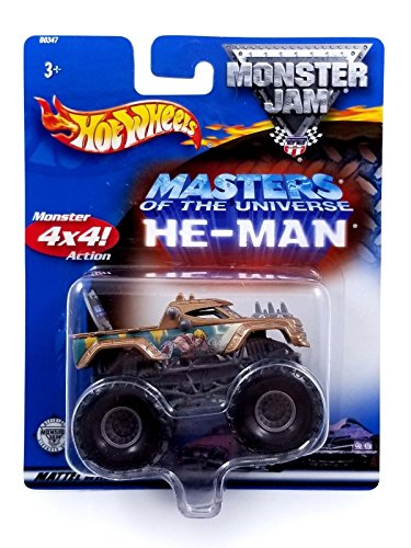 Hot Wheels Mattel 2002Masters of the Universe he-man Collectible 1: 64Monster Truck