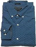 (バナナリパブリック) 長袖 ボタンダウンシャツ ブルー BANANA REPUBLIC 079[並行輸入品] (L)