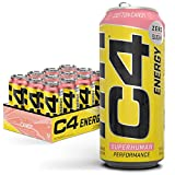 C4 Original Sugar Free Energy Drink 16oz (Pack of 12) |Cotton Candy | Pre Workout Performance Drink with No Artificial Colors or Dyes