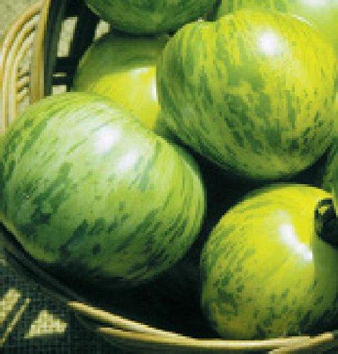 """Ungarische Samen Tomate""""Green Zebra"""" fruchtiges Aroma,von unserer ungarischen Farm samenfest, nur organische Dünger, KEINE Pesztizide, BIO hu-öko-01"""