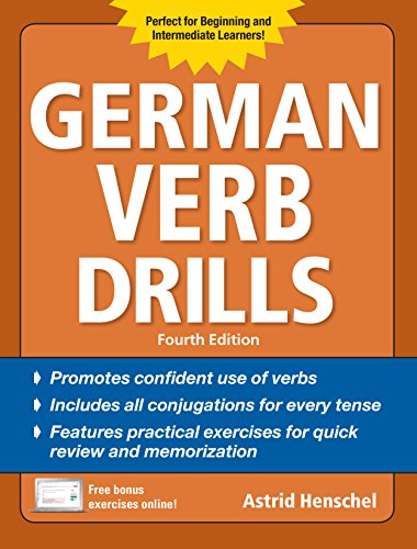 German Verb Drills, Fourth Edition (Drills Series)