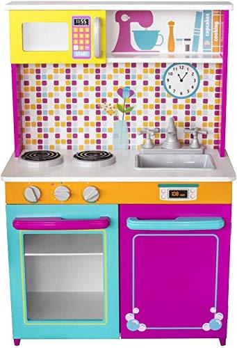 Microondas Juguete Madera  marca Kids House