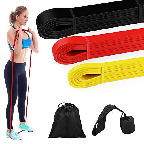 Bandes Elastiques Musculation - Bande de Résistance Set, Fitness Elastiques Kit, pour Musculation, Ancre de Porte, Bandes de résistance d'exercice