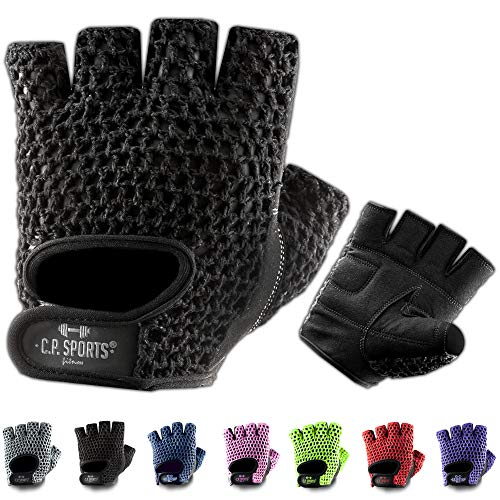 C.P.Sports Fitness-Handschuhe Klassik F3 Gr.L - Handschuh Bodybuilding