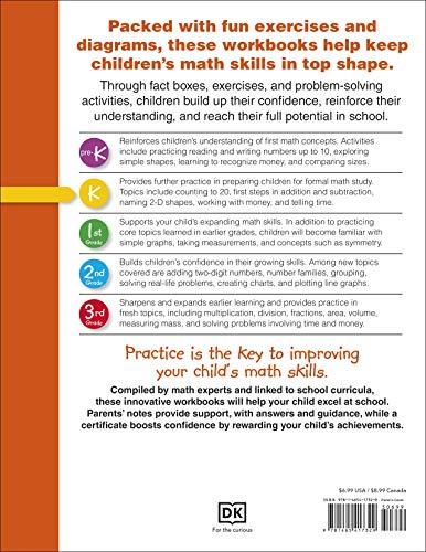 『DK Workbooks: Math, Kindergarten: Learn and Explore』の1枚目の画像