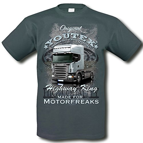 youtex Scania Truck Vintage T-Shirt (M)