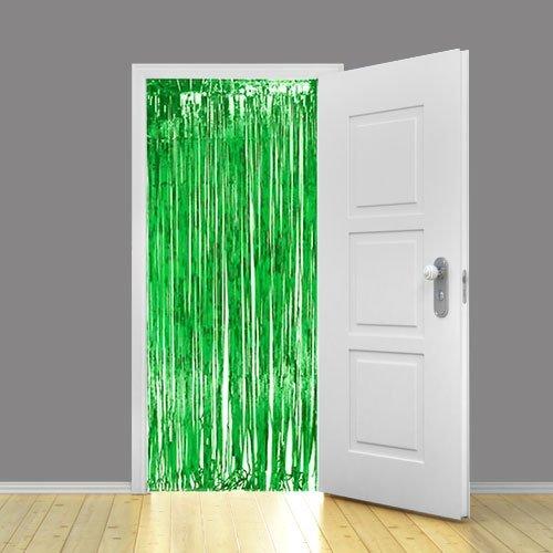 Shimmer Vorhang Metallic Grün 91.44 cm x 243.84 cm- 1 Stück