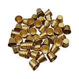 50 PCS Gold Metal Sewing Quilting Thimbles for DIY Craft Finger Protector