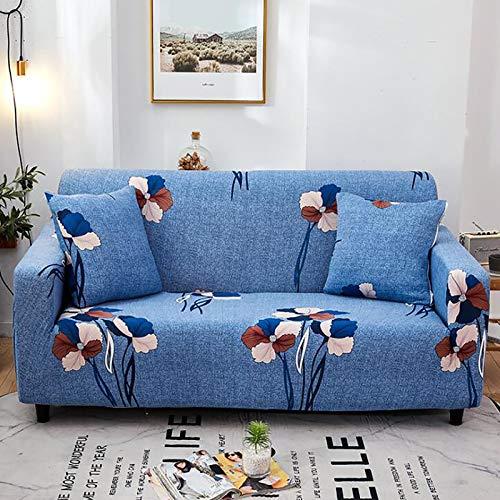 Funda Antideslizante Sofá Elástico,1 Pieza Anti-resbalón Resistente A Las Manchas PROTECTOR DE MUEBLES,Elegante Impresión Cubierta Del Sofá Cubierta De Couch Para Sofá Seccional-C 3 Seater 195-230cm(7