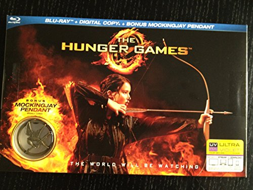 The Hunger Games (LIMITED EDITION Blu-ray + Digital Copy PLUS BONUS Mockingjay Pendant)