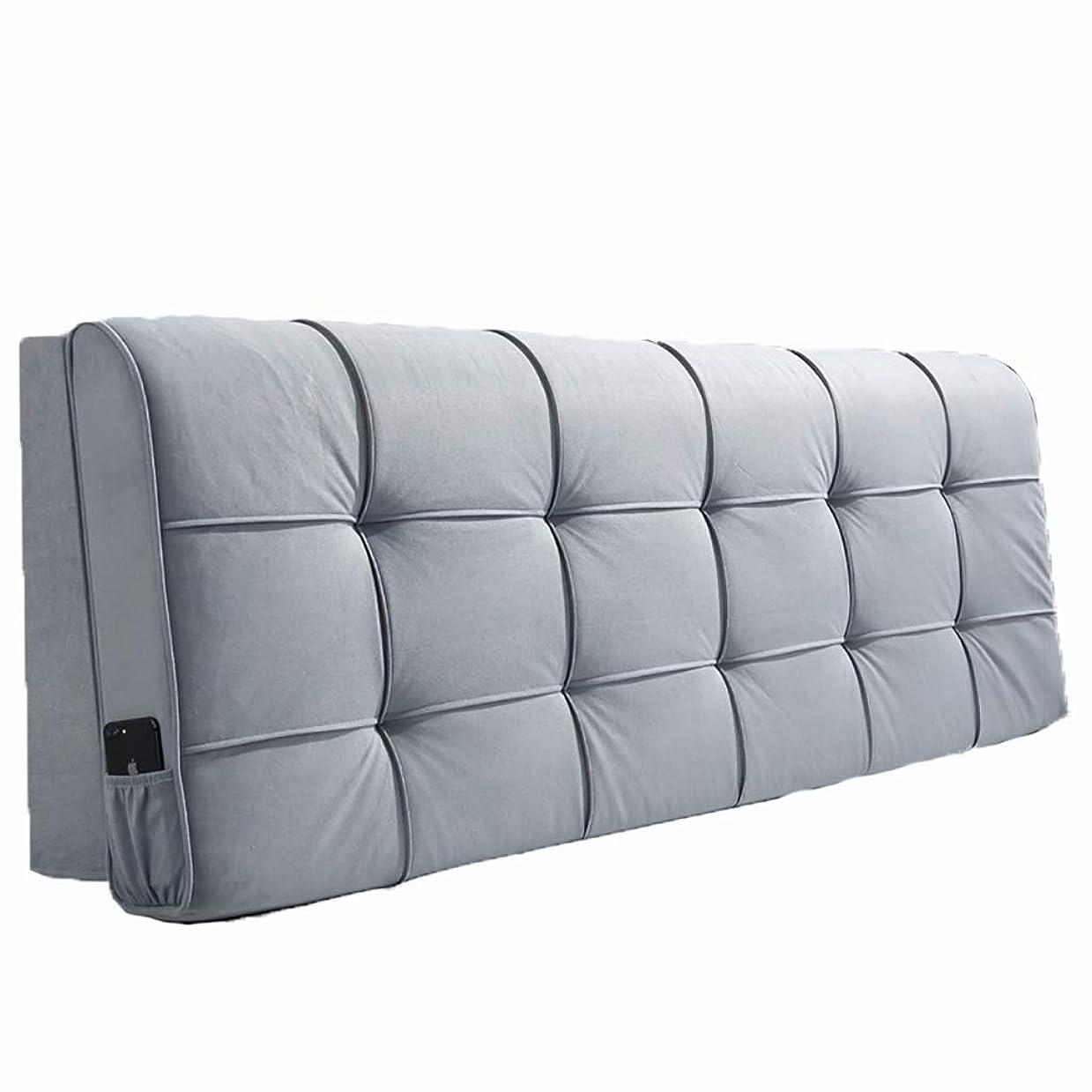 注入するアパートアーティストベッド枕 ベッドサイドクッションソフトバッグ大背もたれシンプルなダブルぬいぐるみ素材取り外し可能な洗える枕ベッドカバーセットベッドサイド使用スポンジフィラーサイズ90センチメートル - 200センチメートル 写真ベッド枕首まくら (色 : I, サイズ さいず : 150cm)