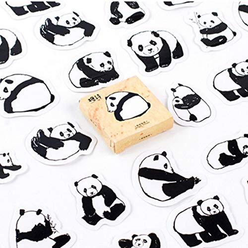 Paquete de 40 Pegatinas de Juguete de Panda Gigante para Estilo de Coche, Bicicleta, Motocicleta, teléfono, portátil, Equipaje de Viaje, calcomanías Divertidas y geniales