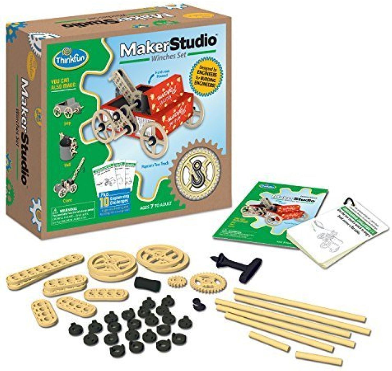Think Fun Maker Studio Winches Set by Think Fun